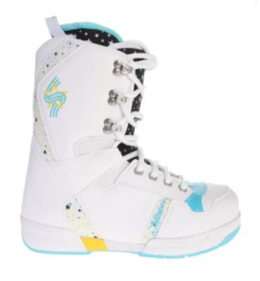 Salomon Dawn Snowboard Boots White/Black