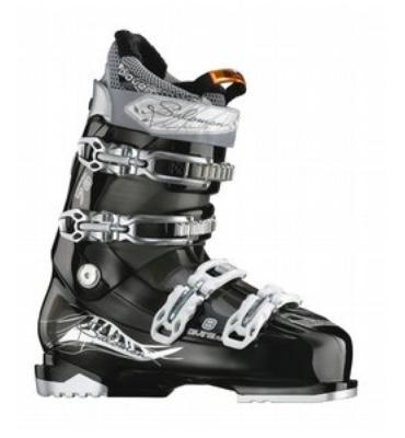 Salomon Divine Rs 8 Ski Boots Black/Crystal