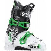 Salomon Ghost 100 Ski Boots White/Black