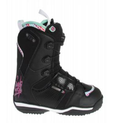 Salomon Ivy Snowboard Boots Black/White