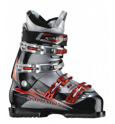 Salomon Mission 6 Ski Boots Black/Silver