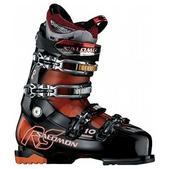 Salomon Mission RS 10 Ski Boots Black/Orange Tran