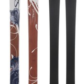 Salomon Origins Pearl Skis White/Brown/Bl - Women's