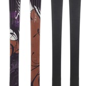 Salomon Origins Topaz Skis Black/Brown - Women's