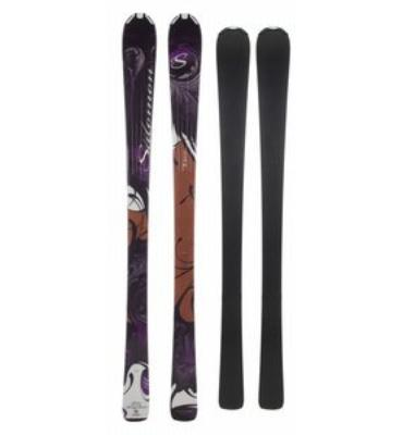 Salomon Origins Topaz Skis Black/Brown
