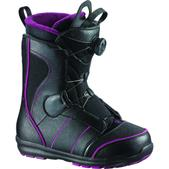 Salomon Pearl Boa Snowboard Boot Women's- Black/ Plum