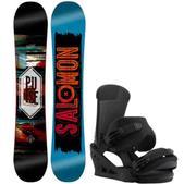 Salomon Pulse Snowboard w/ Burton Custom Bindings