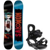 Salomon Pulse Snowboard w/ K2 Lien AT Bindings