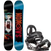 Salomon Pulse Snowboard w/ K2 Sonic Bindings