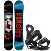 Salomon Pulse Snowboard w/ Ride LX Bindings
