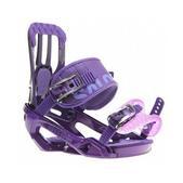 Salomon Rhythm Snowboard Bindings Purple