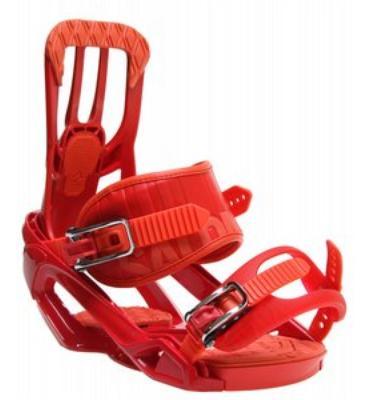 Salomon Rhythm Snowboard Bindings Red