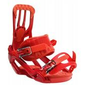 Salomon Rhythm Snowboard Bindings Red