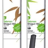 Salomon Shogun Skis Green/Brown/White - Men's