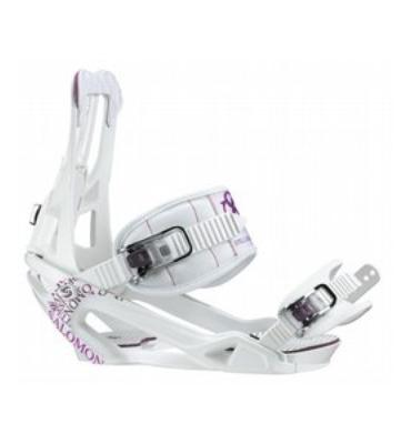 Salomon Spell Snowboard Bindings White