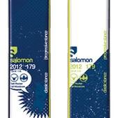 Salomon Twenty Twelve Skis White/Green - Men's