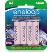 Sanyo Eneloop AA Batteries - Package of 4