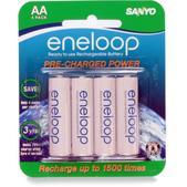 Sanyo Eneloop AA Batteries - Package of 4