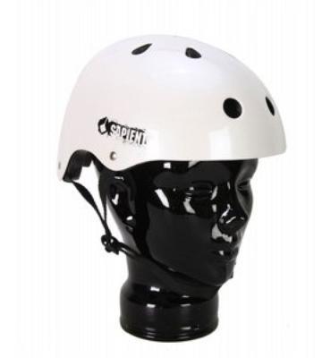 Sapient Snowboard Helmet White