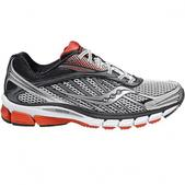 Saucony Mens Ride 6 Running Shoes (WHITE/RED/BLACK, 9.5)