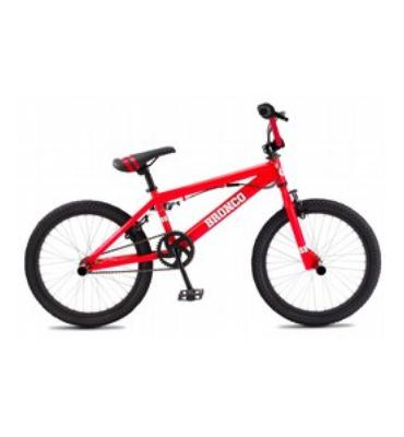 SE Freestyle Bronco Adult BMX Bike Red 20""