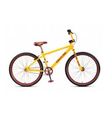 """SE OM Flyer Single Bike Yellow 26"""""""