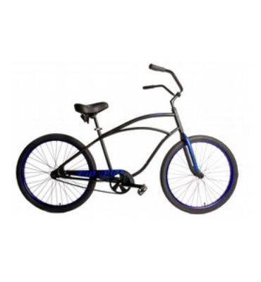 SE Rip Style Beach Cruiser Bike Black 26""