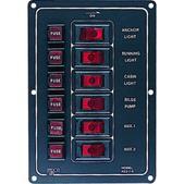 Seadog Switch Panel 6 Switch 4221101