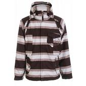 Sessions Fire Fly Ski Jacket Java Stripe