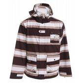 Sessions Foxtrot Stripe Snowboard Jacket Java Stripe
