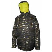 Sessions Fullon Snowboard Jacket Black Zip It