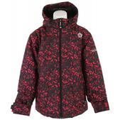 Sessions Munchie Crackle Snowboard Jacket Pink Crackle