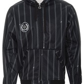 Sessions Pin Zip Softshell Hoodie Black/White Pin Zip - Men's