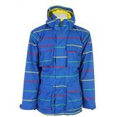 Sessions Replay Snowboard Jacket Blue Print Pop