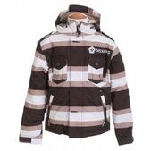 Sessions Saber Ski Jacket Java Stripe