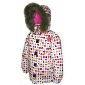 Sessions Sweetie Snowboard Jacket Pop Pink Dots