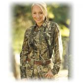 She  Safari Women`s Tailored Hunter Button Down Shirt