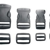 Side Release Buckle W/Slider