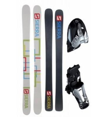 Sierra SB Twin Camrock Ski Package