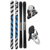 Sierra TT1 Skis w/ Marker Free Ten Bindings White/Black/Red