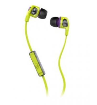 Skullcandy Smokin' Buds 2 Mic'd Earphones (Lime/Purple)