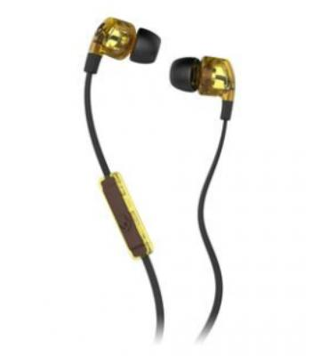 Skullcandy Smokin' Buds 2 Mic'd Earphones (Tortoise/Black)