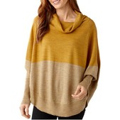 Smartwool Nokoni Color Block Poncho for Women