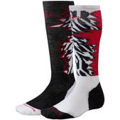 SmartWool PhD Slopestyle Medium Switch 1980 Ski Sock Size M Color White