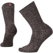 SmartWool Women's Cozy Dot Crew Socks Taupe Heather M