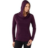 Smartwool Womens Long Sleeve Burnout Hoo - Sale