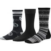 SmartWool Women's Trio 2 Socks Black M