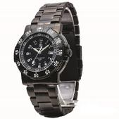 Smith & Wesson 357-Commander Tritium Watch Stainless Steel SWW-357-BSS