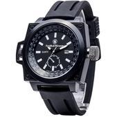 Smith & Wesson EGO Series Watch with Silicon Strap Black SWW-LW6097