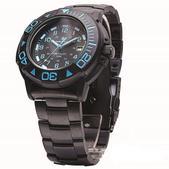 Smith & Wesson Swiss Tritium Diver Watch - Black/Blue SWW-900-BLU